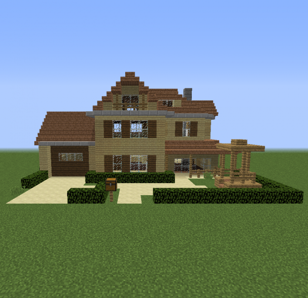 Blueprints For MineCraft Houses