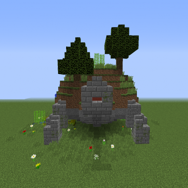 Ancient Giant Tortoise Blueprints For Minecraft Houses Castles Towers And More Grabcraft