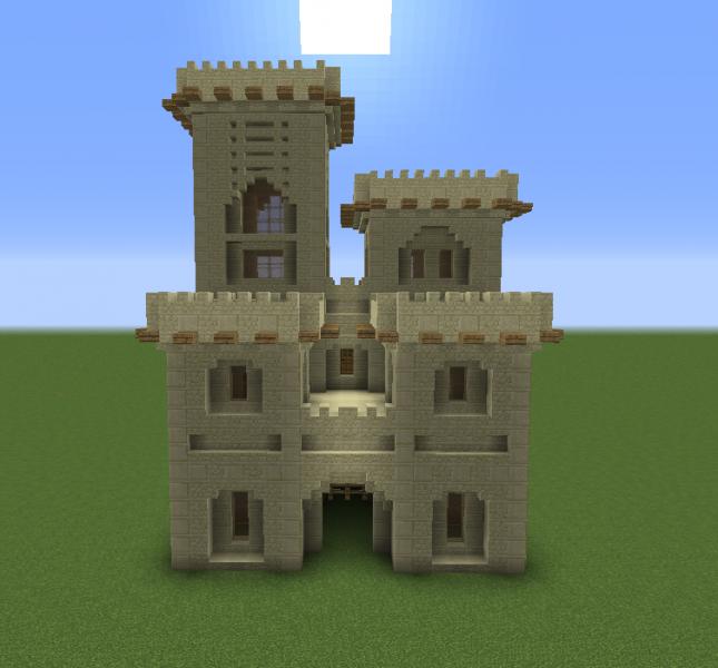 Arabic Desert Castle