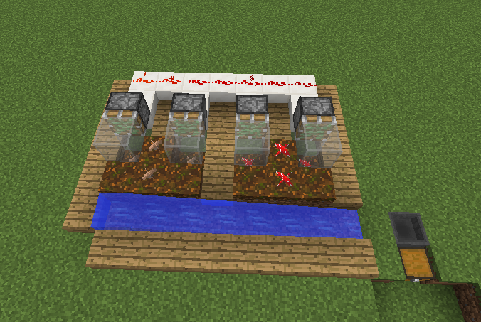 Automatic Mushroom Farm Blueprints For Minecraft Houses Castles Towers And More Grabcraft
