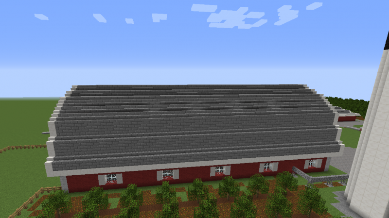 Barn House Blueprints For Minecraft Houses Castles Towers And More Grabcraft