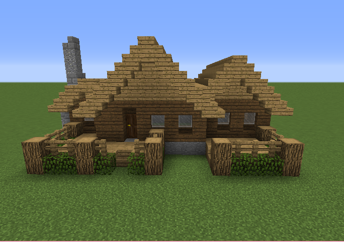 Small Wooden Cabin 7 Blueprints For Minecraft Houses Castles Towers And More Grabcraft