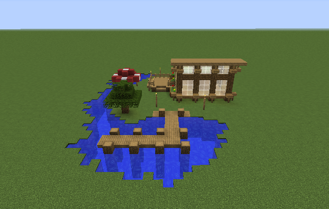 Beach House Blueprints For Minecraft Houses Castles Towers And More Grabcraft