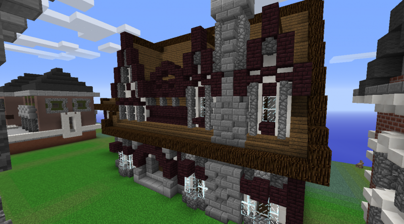 Big Country House Blueprints For Minecraft Houses Castles Towers And More Grabcraft