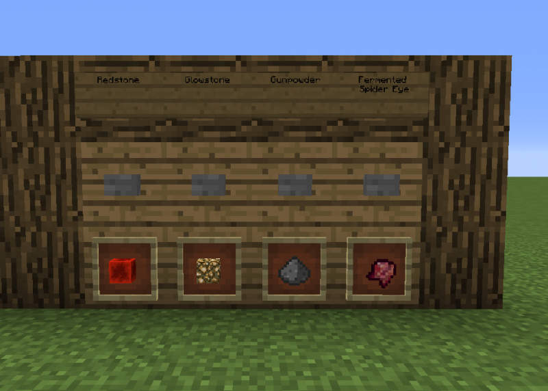 Brewing Station Blueprints For Minecraft Houses Castles Towers And More Grabcraft