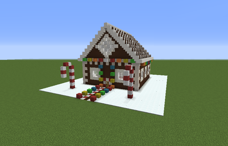Christmas House Blueprints For Minecraft Houses Castles Towers And More Grabcraft