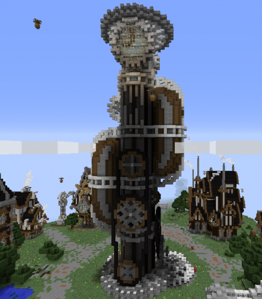 Clocktower Blueprints For Minecraft Houses Castles Towers And More Grabcraft
