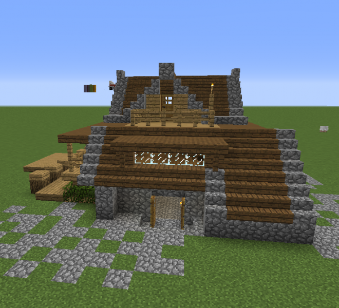 Build This Cozy Cabin Not A Mirage Park Build But I Also Tried