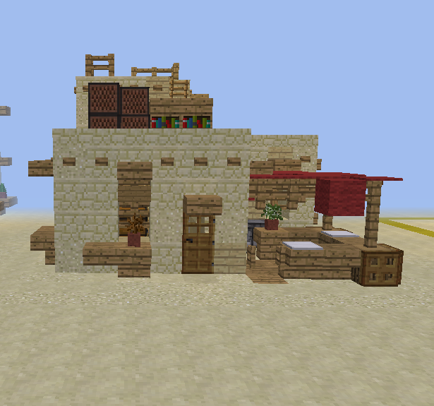 Desert Sandstone House 6 Blueprints For Minecraft Houses Castles Towers And More Grabcraft