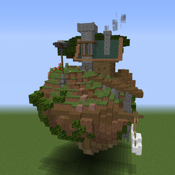 Fantasy Island House Blueprints For Minecraft Houses Castles Towers And More Grabcraft