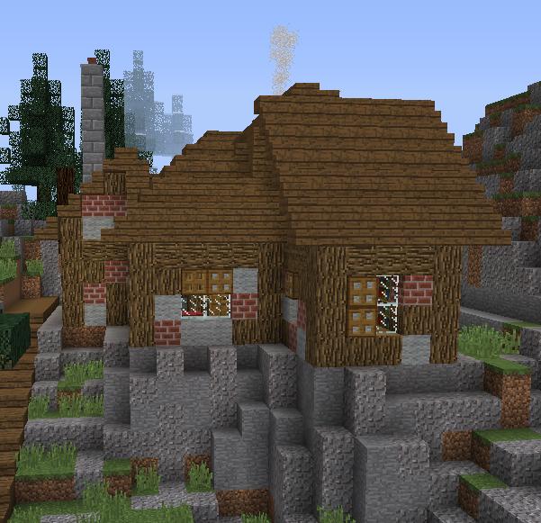 Fantasy Mountain Village House 1