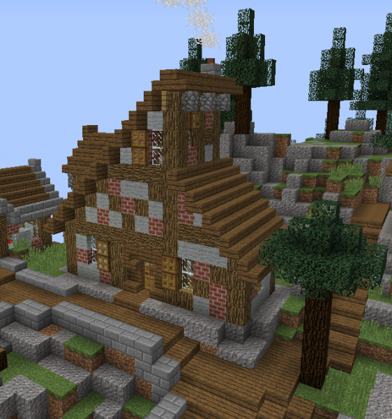 Fantasy Mountain Village House 2