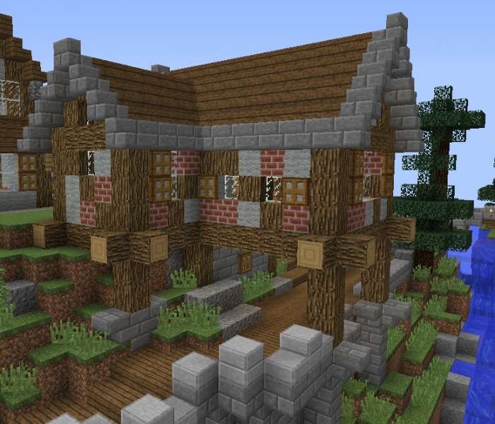 Fantasy Mountain Village House 3