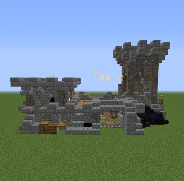 Fantasy World Small Castle