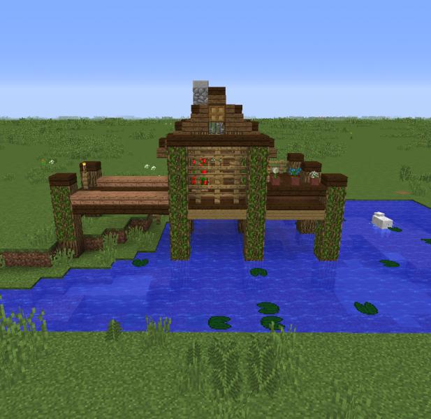 Fishing Village Hut 4