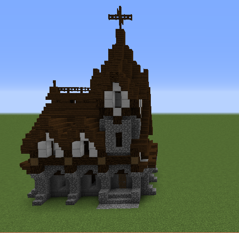 Gothic House Blueprints For Minecraft Houses Castles Towers And More Grabcraft