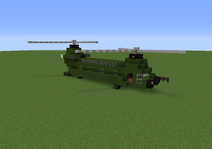 Minecraft Helicopter