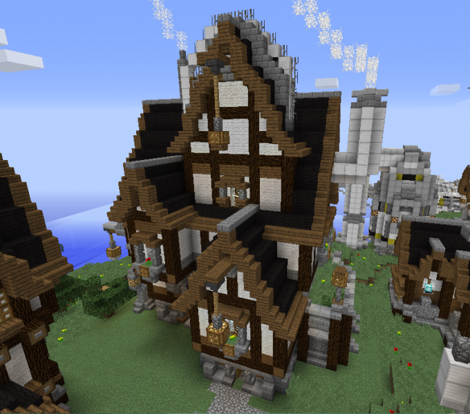 Minecraft Victorian Style House