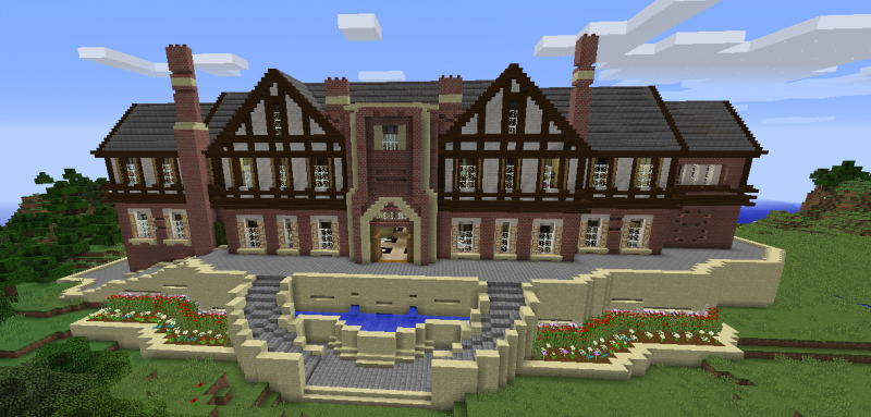 Minecraft Modern Mansion