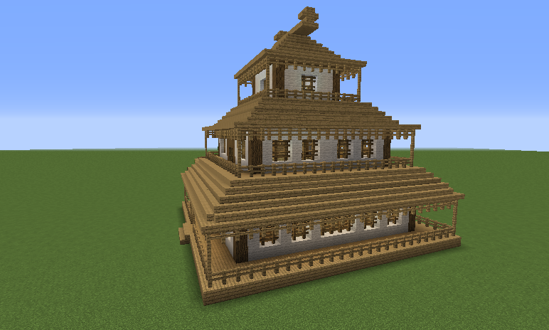 Japanese House Blueprints For Minecraft Houses Castles Towers And More Grabcraft