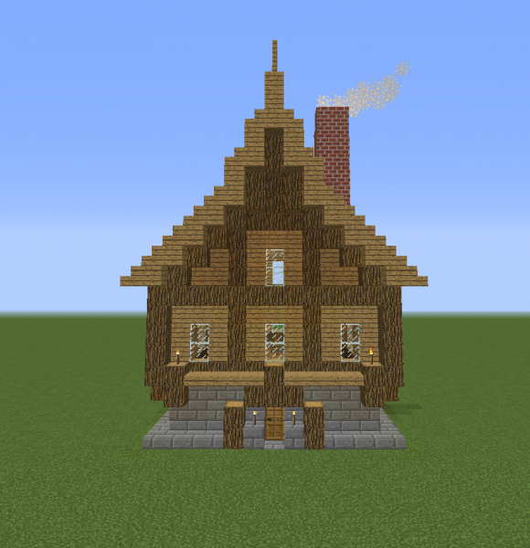 Medieval Colonial Fancy House Blueprints For Minecraft Houses Castles Towers And More Grabcraft