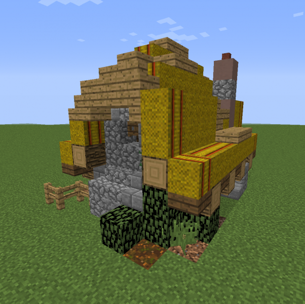 Medieval German Hovel Blueprints For Minecraft Houses Castles Towers And More Grabcraft