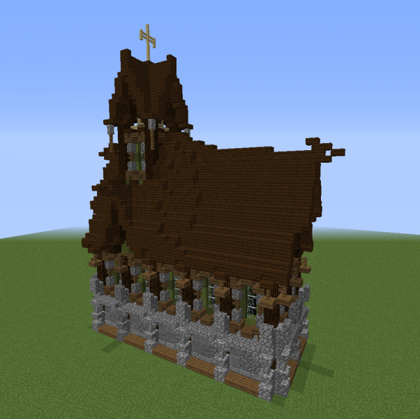 Medieval Gothic Church Blueprints For Minecraft Houses Castles Towers And More Grabcraft