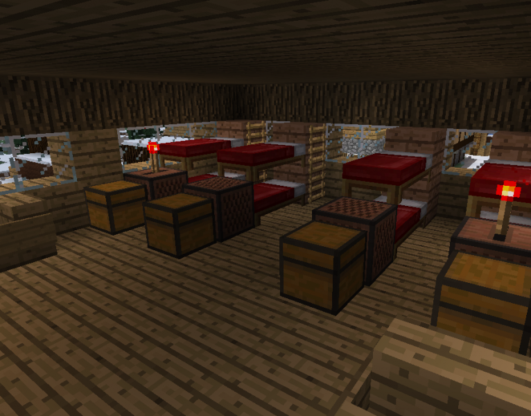 Medieval Guest House With A Basement Blueprints For Minecraft Houses Castles Towers And More Grabcraft