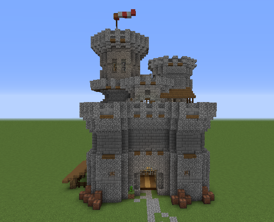 Minecraft Medieval Castle