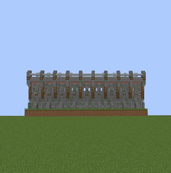Cool Castle Wall Designs Minecraft Paulbabbitt Com