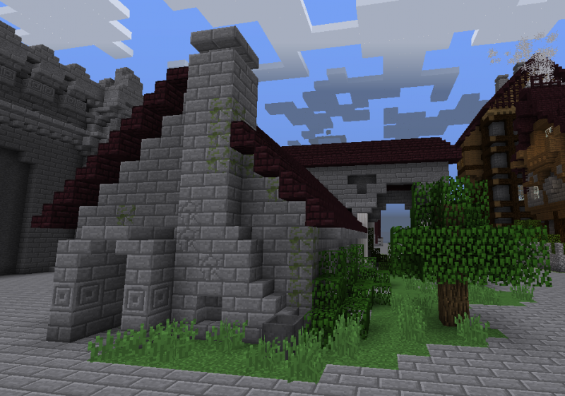 Medieval Stone House Blueprints For Minecraft Houses Castles Towers And More Grabcraft