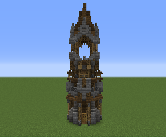 Medieval Tower Blueprints For Minecraft Houses Castles Towers And More Grabcraft