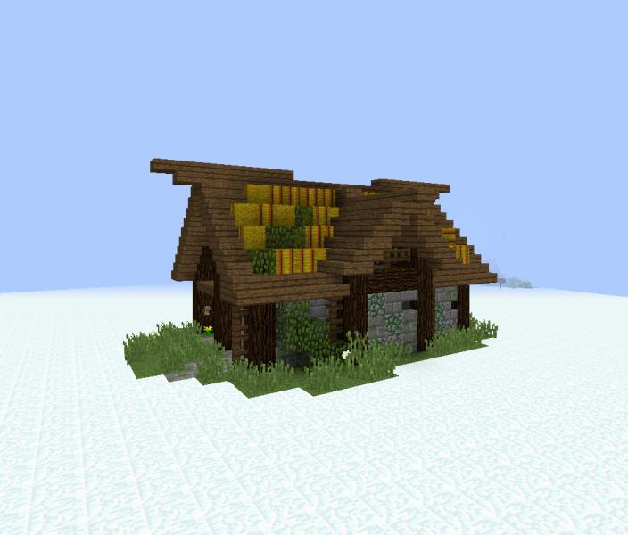 Medieval Village Storage House