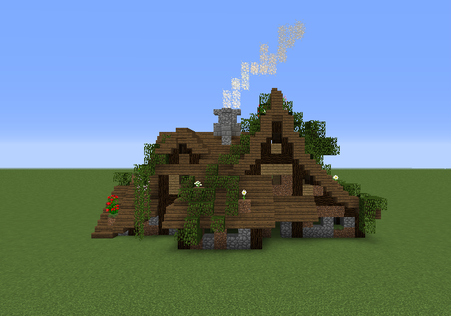 Medieval Witch House Blueprints For Minecraft Houses Castles Towers And More Grabcraft