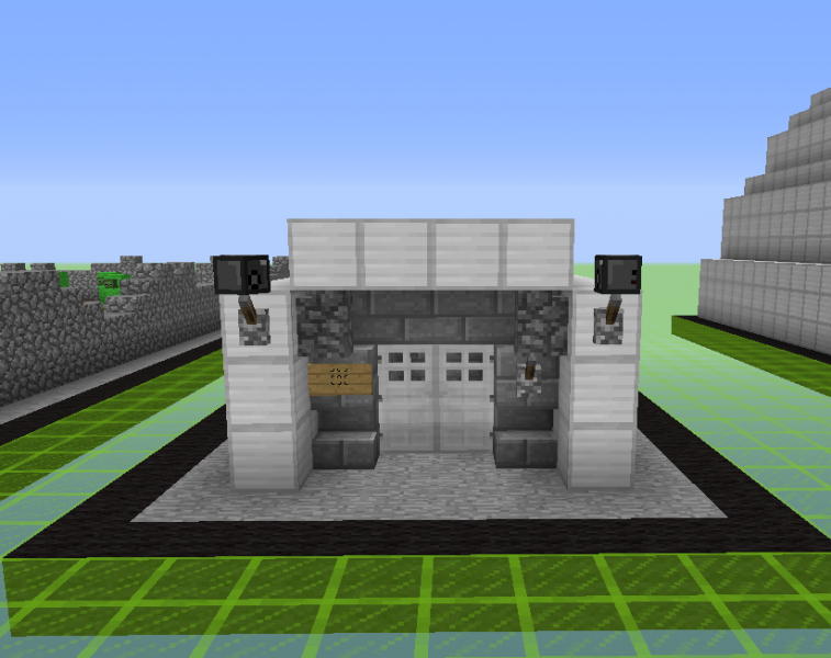 Military Bunker Blueprints For Minecraft Houses Castles Towers And More Grabcraft