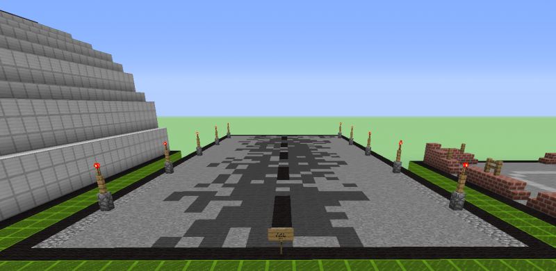 Military Landing Strip Blueprints For Minecraft Houses Castles Towers And More Grabcraft