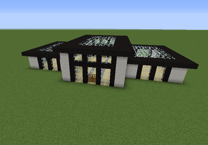 Modern Private House 22 Blueprints For Minecraft Houses Castles
