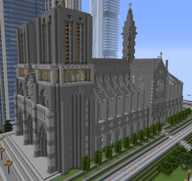 Minecraft Notre-Dame