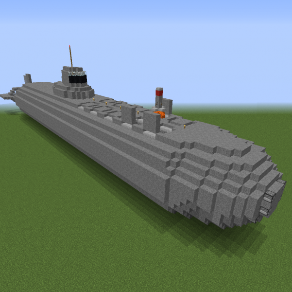 Minecraft Submarine