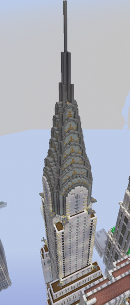 Blueprint New York Chrysler Building