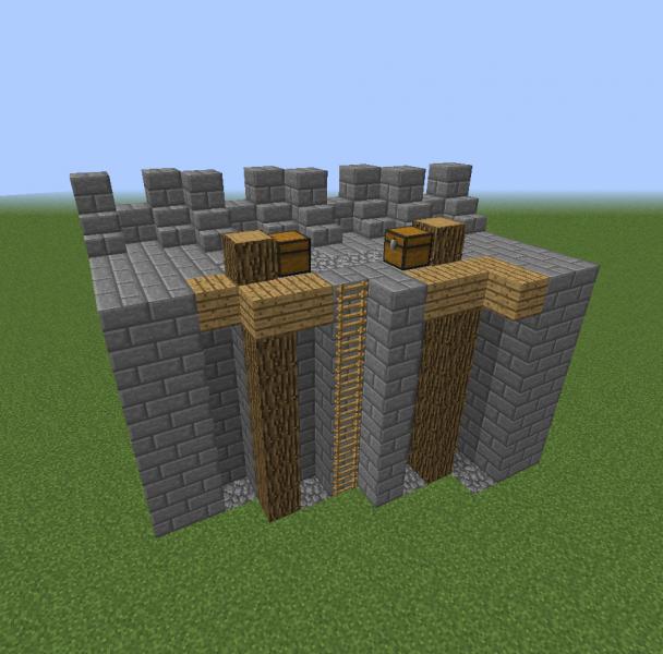 Oakshire Diagonal Wall Blueprints For Minecraft Houses Castles