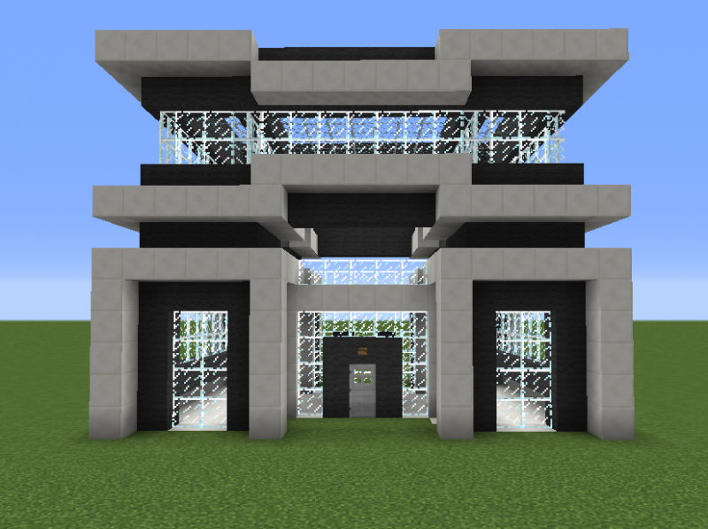 Quartz House 3 Blueprints For Minecraft Houses Castles Towers And More Grabcraft