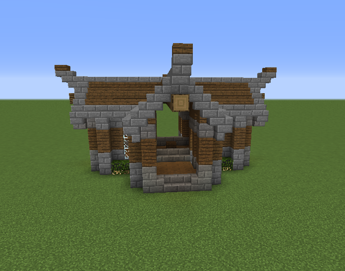 Rustic Enchanting House Blueprints For Minecraft Houses Castles Towers And More Grabcraft