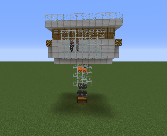 Iron Golem Farm Blueprints For Minecraft Houses Castles Towers And More Grabcraft