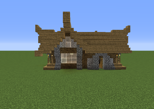 Small Medieval House 8 Blueprints For Minecraft Houses Castles Towers And More Grabcraft