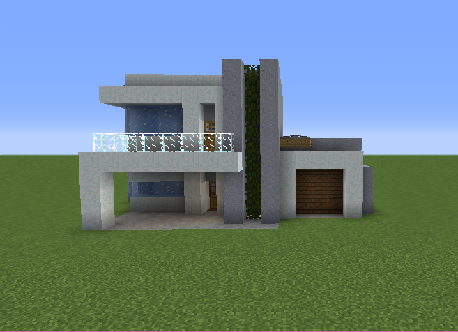 minecraft house ideas small modern