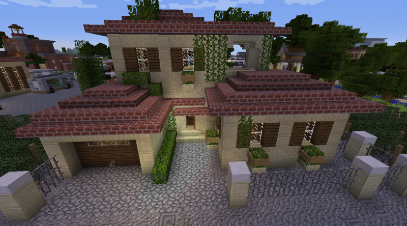 Small Sandstone House Blueprints For Minecraft Houses Castles Towers And More Grabcraft