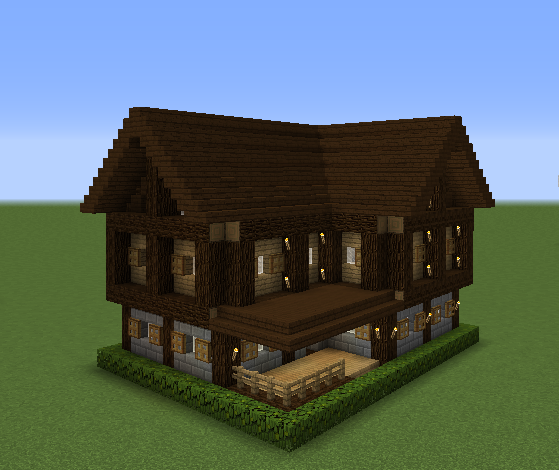 Minecraft Small Survival House