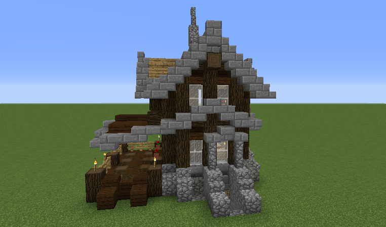 Small Survival Victorian House Blueprints For Minecraft Houses Castles Towers And More Grabcraft