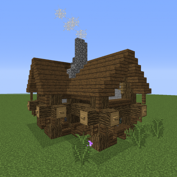 Small Village Rustic House 3